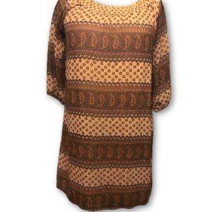 Delia's Boho Peasant Tunic Dress